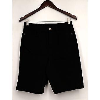 Denim & Co. Jeans How Modern 5 Pocket Colored Denim Black A275574