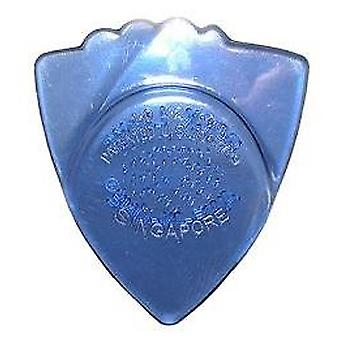 6 AWE-in-One Rock Licks gitaar Picks/plectrums-poly plus-Icy-helder blauw 1.00 mm-1.4 mm