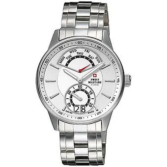 Swiss Military Swiss Quartz Analog Man Watch with SM34037.02 Stainless Steel Bracelet