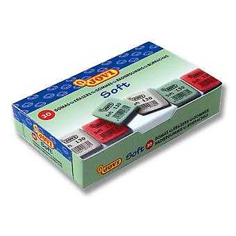 Jovi Box 30 Erasers Square Eraser (Babies and Children , Toys , School Zone)