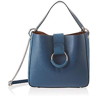Chicca Bags 8880 Women's Green shoulder bag (Petrolio) 28x25x11 cm (W x H x L)