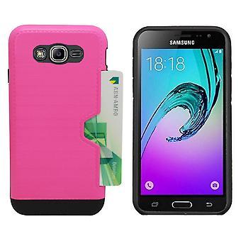 Cardskin för Samsung j5 rosa