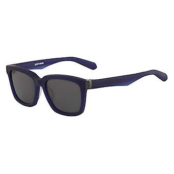 Dragon Alliance Robbs Sunglasses Matte Navy Frames with Smoke Lens