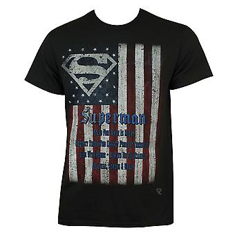 Superman vlag Tee Shirt
