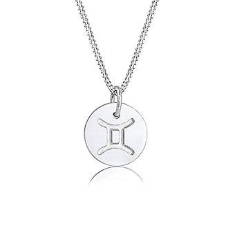 Elli sølv anheng halskjede 0109752117_45