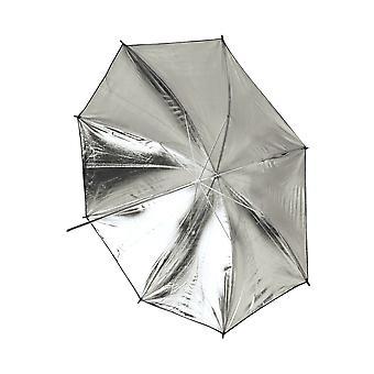 BRESSER SM-11 reflekterande paraply vit/svart 101cm