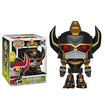 Power Rangers Megazord Black and Gold 6