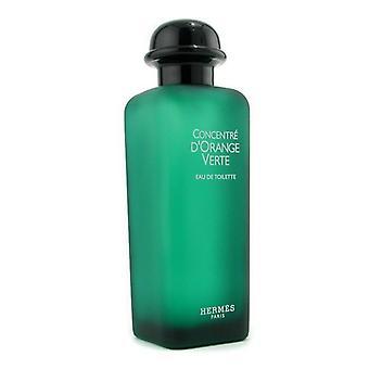 Hermes D'orange Verte Eau De Toilette Concentrate Spray - 100ml/3.4oz