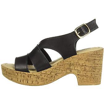 Bella vita vrouwen ' s Jaz-Italië slingback Sandal schoen, zwart Italiaans rundleder, 6 M ons