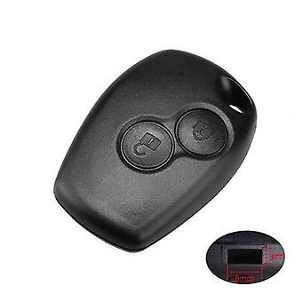 Renault Duster Dacia 2 button remote key case 3/9 hole