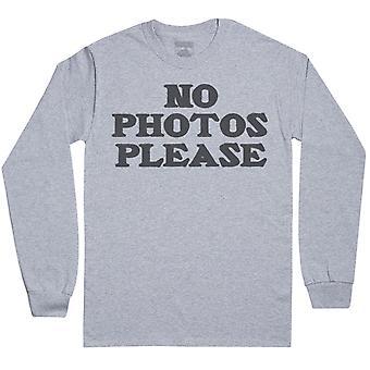 No Photos Please - Mens Long Sleeve T-Shirt