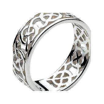 Kit Heath Heritage Heritage Celtic Open Knotwork Edged Ring 2285HP