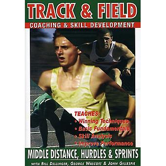 Middle Distance Hurdles & Sprints with Bill Dellin [DVD] USA import