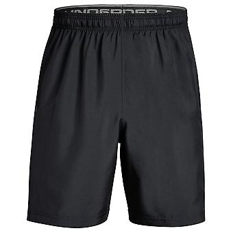 Under Armour Woven Graphic Mens Exercise Fitness Sport Short Black