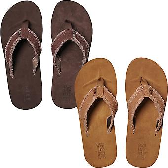 Reef Mens Cushion Fray Holiday Beach Summer Slip On Flip Flops Sandals Shoes