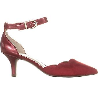 Anne Klein Womens Findaway Pointed Toe Ankle Strap D-orsay Pumps