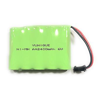 1 Piece Rechargeable 6V Ni-Mh2400mAh Battery for Remote Auto Control
