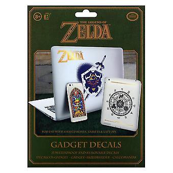 De legende van Zelda Hyrule Decals herbruikbare waterdichte Gadget Gaming merchandise