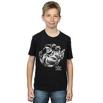 Disney Boys Nightmare Before Christmas Ooogie Boogie Mono T-Shirt