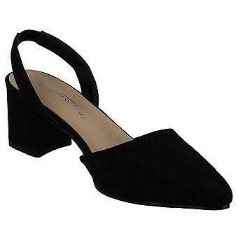 Anne Michelle Womens/Ladies Wide Fitting Slingback Shoes