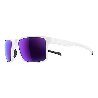 Adidas Wayfinder SPX Frame sport solglasögon-vit Matt-violett