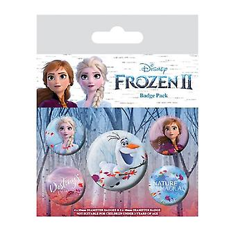 Frozen 2 Button Badges (Pack of 5)