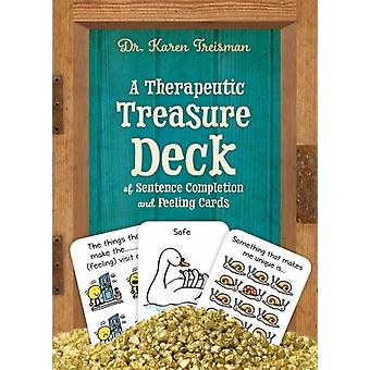 Therapeutic Treasure Deck of Feelings and Sentence Completio by Karen Treisman