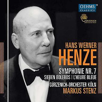 Henze, H. / Guerzenich Orchestra of Cologne - Hans Werner Henze: Symphony No. 7 [CD] USA import