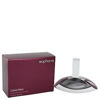 Euphoria eau de parfum spray mennessä calvin klein 423490 50 ml