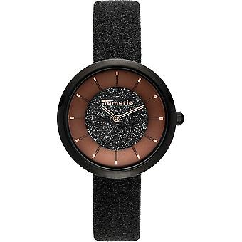Tamaris - Wristwatch - Bea - DAU 34mm - Black - Ladies - TW048 - black brown