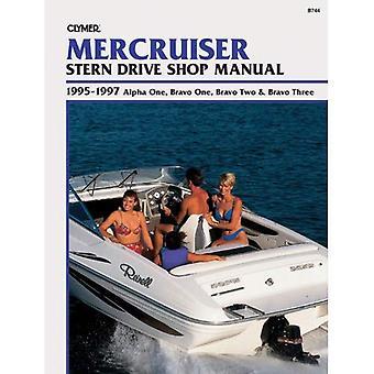 Mercruiser Stern Drive Shop Manual, Alpha One, Bravo One, Bravo Two & Bravo Three, 1995-1997