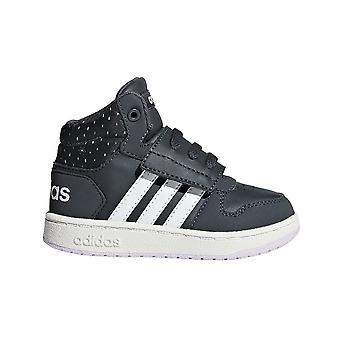 Adidas Hoops Mid 20 I F35844 universal all year infants shoes