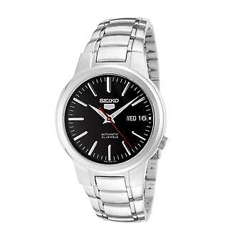 SNKA07K1 orologio uomo Seiko 5 automatico quadrante nero in acciaio inox