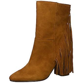 Dolce Vita Womens Rhoda Leather Closed Toe Mid-Calf Fashion Boots