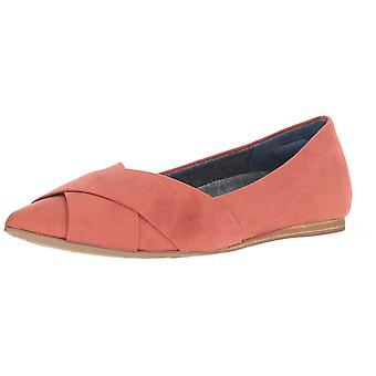 Dr. Scholl's Womens Loma Fabric Pointed Toe Slide Flats