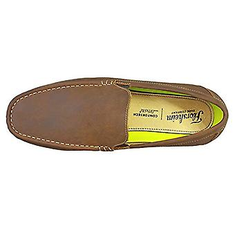 Florsheim Mens draft venetian Leather Square Toe Penny Loafer, Brown, Size 11.0