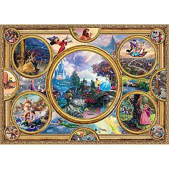 Kinkade Schmidt: Disney Dreams colección Jigsaw Puzzle (2000 piezas)
