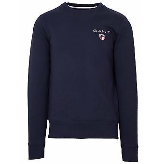 GANT GANT Marine Rundhals Sweatshirt