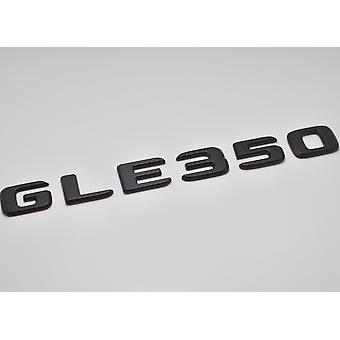 Matt Black GLE350 Flat Mercedes Benz Car Model Rear Boot Number Letter Sticker Decal Badge Emblem For GLE Class W166 C292 AMG