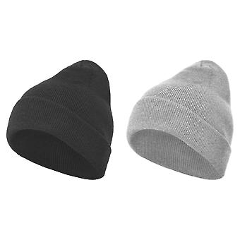 Build Your Brand Adults Unisex Heavy knit Beanie