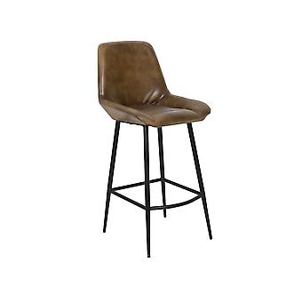Light & Living Bar Chair 45x58x105cm Zuko Antique Brown