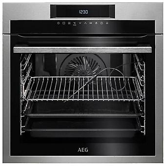 Pyrolytic oven aeg bpe642120m 71 l touch control 3000w stainless steel black