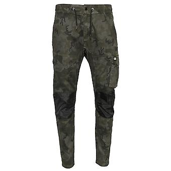Caterpillar Mens Dynamic Trousers Night Camo