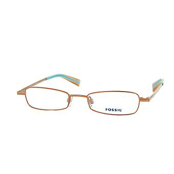 Fossil Glasses Eyeglass Frame Chokeberry bronzemetálico OF1075800