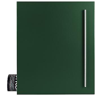 MOCAVI Box 110 Quality letterbox with newspaper compartment moss-green (RAL 6005)