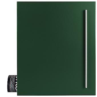 MOCAVI Box 110 Boîte aux lettres de qualité avec compartiment de journal vert mousse (RAL 6005)