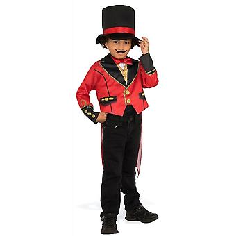 Ringmaster Magician Circus Lion Tamer Showman Book Week Child Boys Costume S