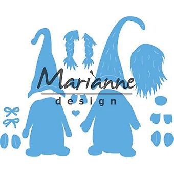 Marianne Design Creatables Cutting Dies - Tomte Gnome LR0554