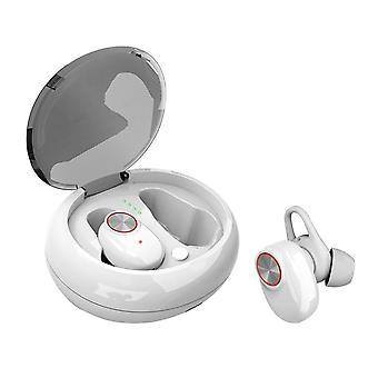 [Bluetooth 5.0] todellinen langaton kuulokkeet melunvaimennus kuulokkeet syvä basso hd 3d stereo ympäröi vedenpitävä urheilu kuuloke mikrofoni