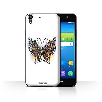 STUFF4/Housse pour Huawei Y6/papillon/ornement animaux